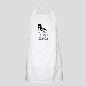 Downward Facing Dog Yoga BBQ Apron