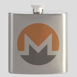 HD Monero Official Logo Monero Coin Flask