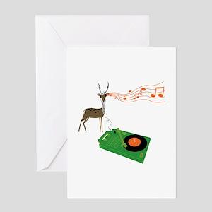 Reindeer Rock Greeting Cards (10 Pk) Greeting Card