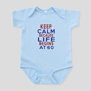 Life Begins At 60 Infant Bodysuit