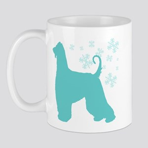 Afghan Hound Snowflake Mug