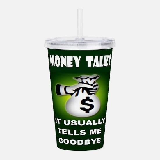MONEY Acrylic Double-wall Tumbler