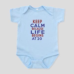 Life Begins At 20 Infant Bodysuit
