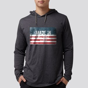 Made in Mill Shoals, Illinois Long Sleeve T-Shirt