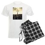 Christian Cross On Mountain Pajamas