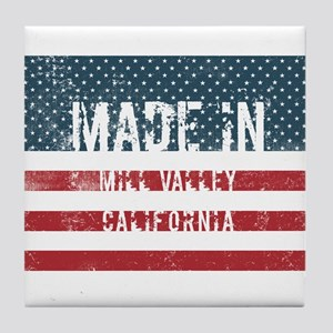 Made in Mill Valley, California Tile Coaster