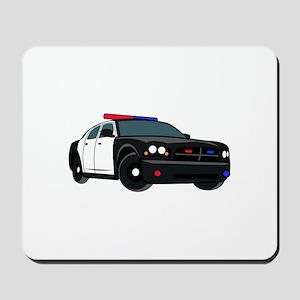 Police Car Mousepad