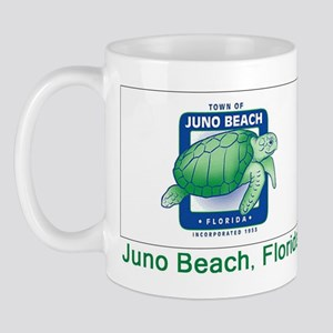 Juno Beach FL Flag Mug