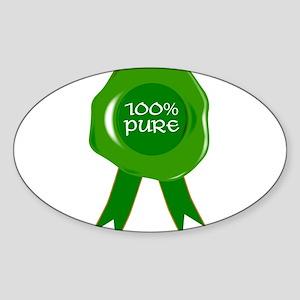 100 Percent Pure Sticker