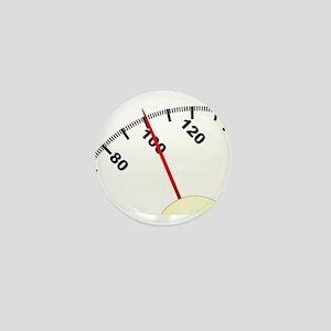 100 Pounds Mini Button