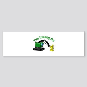Tree Trimming Pro Bumper Sticker