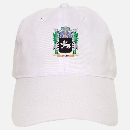 Sturm Coat of Arms - Family Crest Baseball Baseball Cap