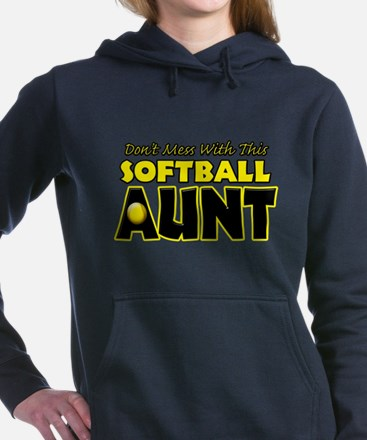 Dont Mess With This Softball Aunt.png Sweatshirt