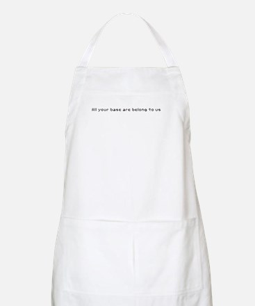 All your base are belong to u BBQ Apron