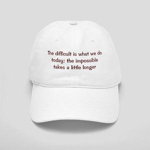 The Difficult Cap
