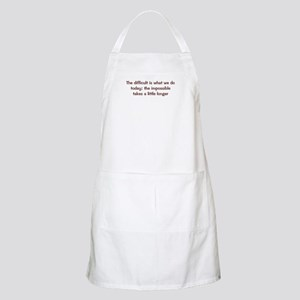 The Difficult BBQ Apron