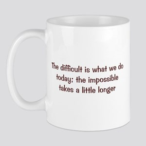 The Difficult Mug
