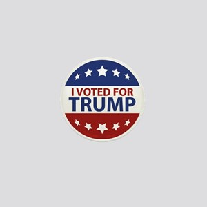 I Voted For Trump Mini Button