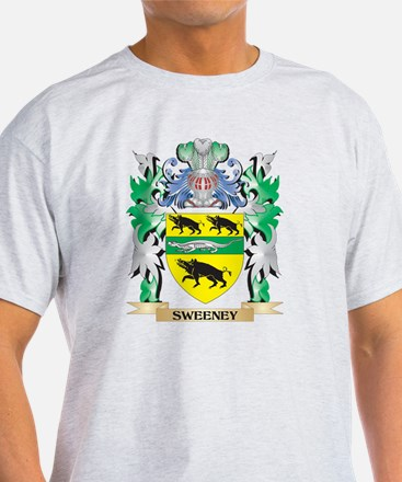 Sweeney Coat of Arms - Family Crest T-Shirt