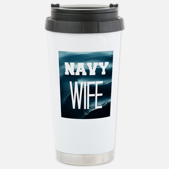 Navy Wife Travel Mug