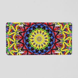 Meditation 2b Aluminum License Plate