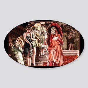 Red Death crashes the Masked Ball Sticker