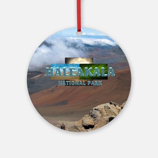 ABH Haleakala Round Ornament