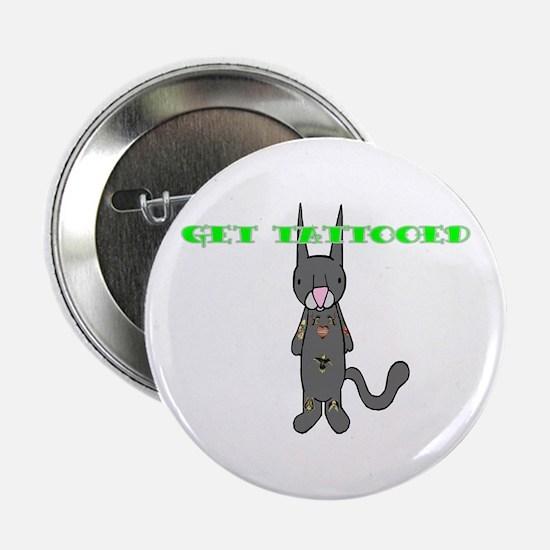 """Zero Kitten Tat2 2.25"""" Button"""