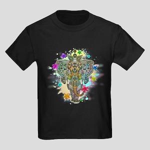 Elephant Zentangle Doodle Art T-Shirt