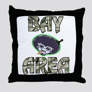 BAY AREA BIZZNESS Throw Pillow