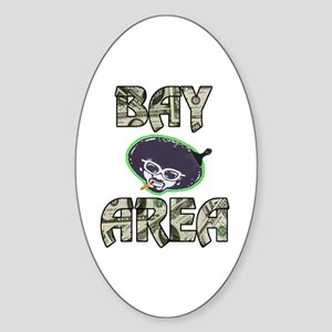 BAY AREA BIZZNESS Oval Sticker