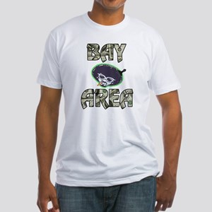 BAY AREA BIZZNESS Fitted T-Shirt