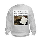 Read/Learn/Live The Declaration Sweatshirt