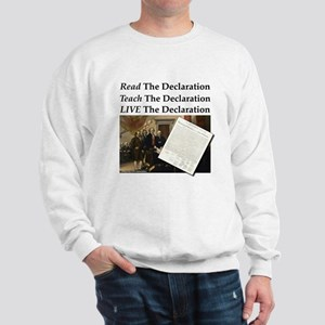Read/Learn/Live The Declaration Sweatshirt