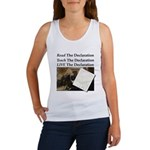 Read/Learn/Live The Declaration Tank Top