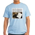 Read/learn/live The Declaration T-Shirt
