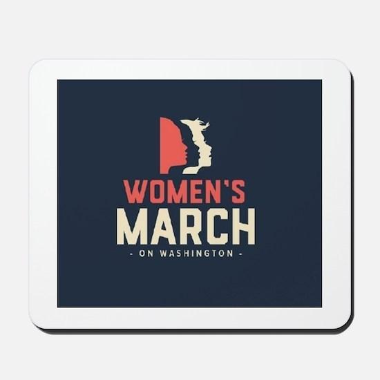womens march on Washington Mousepad