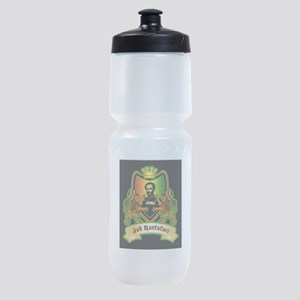 Rastafari Crest Sports Bottle