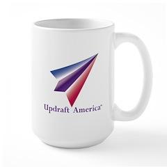 Large Mug With Updraft America Logo--Mugs