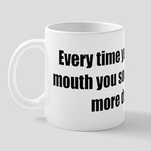 More and More Douchey Mug