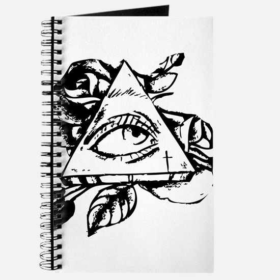 triangle all seeing eye Journal