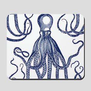 Antique Octopus Mousepad