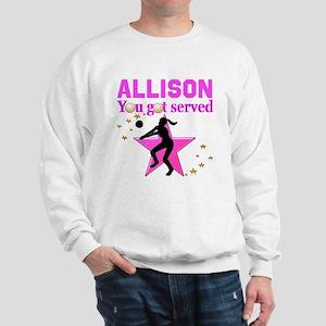 CUSTOM VOLLEYBALL Sweatshirt