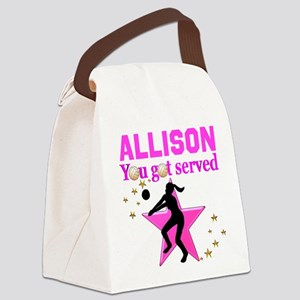 CUSTOM VOLLEYBALL Canvas Lunch Bag