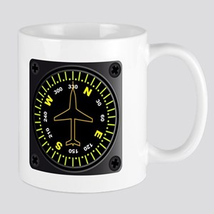 Aircraft Compass Mugs