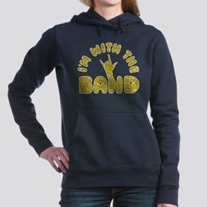 I'M WITH THE BAND Women's Hooded Sweatshirt