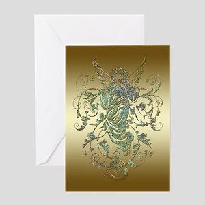 Christmas Angel Christmas Greeting Card