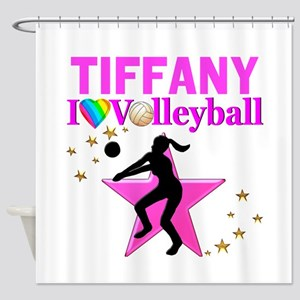 CUSTOM VOLLEYBALL Shower Curtain