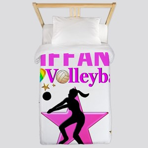 CUSTOM VOLLEYBALL Twin Duvet