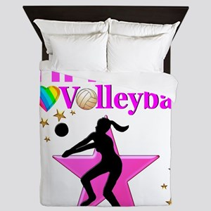 CUSTOM VOLLEYBALL Queen Duvet